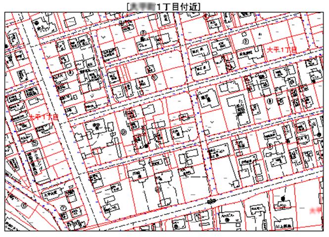 住居表示管理システム キャプチャ(2)